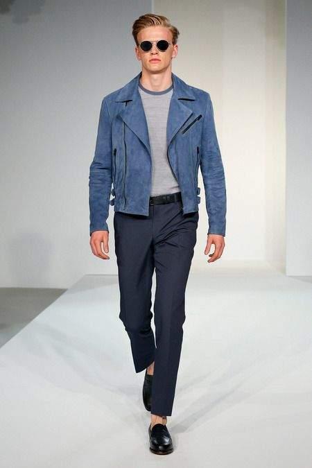 大人だからこそ楽しみたい、ライダースジャケットの着こなし。定番アウターをお洒落に着こなそう! 6番目の画像