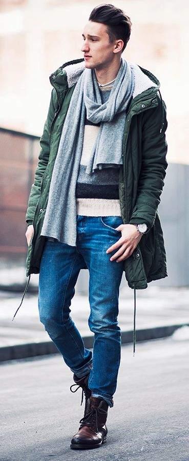 強気な武骨さが魅力・モッズコートは、男らしく。今冬の相棒にしたいモッズコートのメンズコーデ5選 5番目の画像