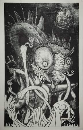 """""""生と死""""を作品に込める美人画家・小松美羽:""""美しすぎる画家""""が描く「わたしの生と死」とは 4番目の画像"""