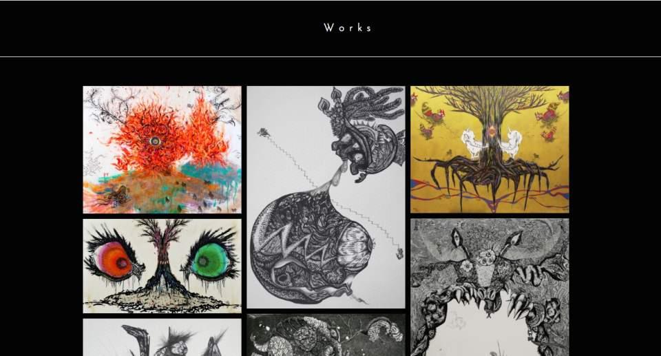 """""""生と死""""を作品に込める美人画家・小松美羽:""""美しすぎる画家""""が描く「わたしの生と死」とは 3番目の画像"""