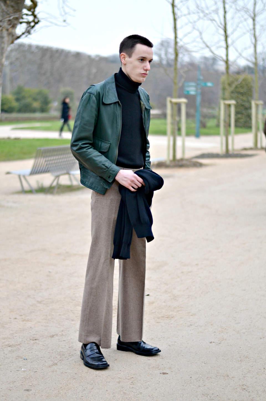 大人のニューベーシック。オフスタイルに取り入れたい「スラックス」の着こなし 7番目の画像