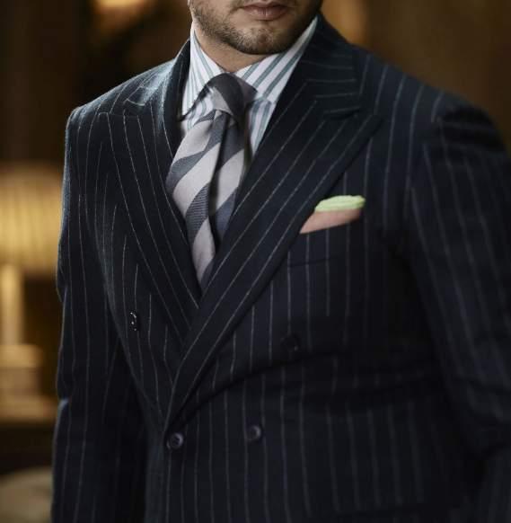「スーツの選び方・着こなし法 第七ヶ条」を制定!:男のスーツは肩で着ろ。 8番目の画像