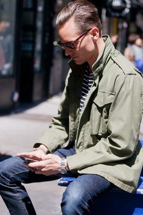 一点投入で2015年の旬顔へ! 冬を彩るメンズファッション:ミリタリーアイテムで勝負をかけろ 2番目の画像