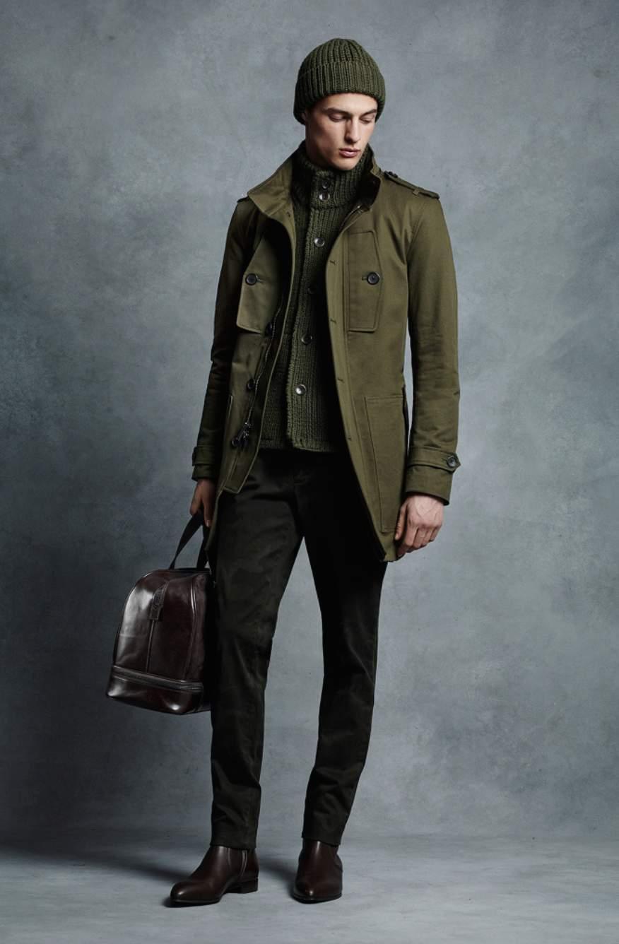 一点投入で2015年の旬顔へ! 冬を彩るメンズファッション:ミリタリーアイテムで勝負をかけろ 4番目の画像