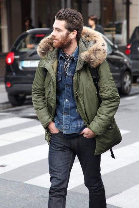 一点投入で2015年の旬顔へ! 冬を彩るメンズファッション:ミリタリーアイテムで勝負をかけろ 5番目の画像