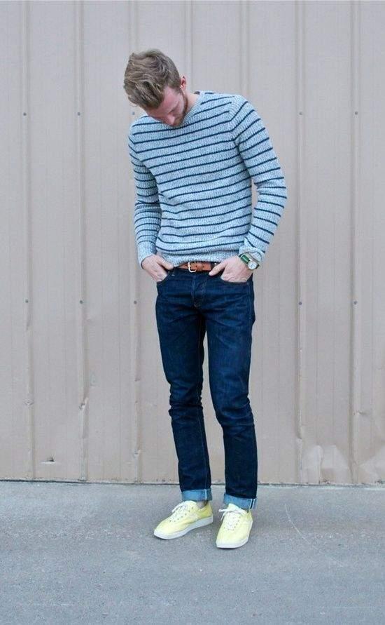 洒落たセーターの着こなしこそ、冬のメンズの真骨頂。小粋なワザで魅せる大人のセーター着こなし方法 6番目の画像