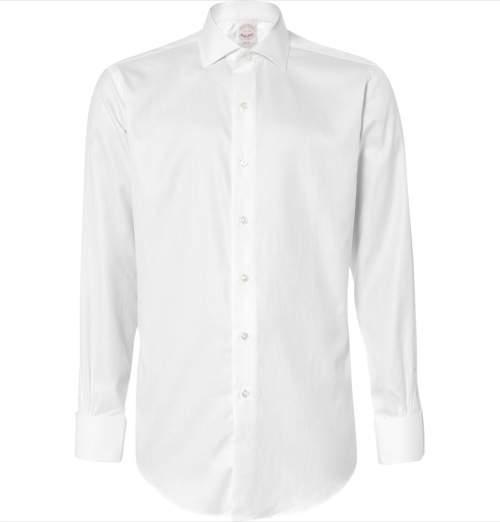 """メンズファッションの基本、""""白シャツ""""。上質ブランドを抑えて大人のお洒落を 3番目の画像"""