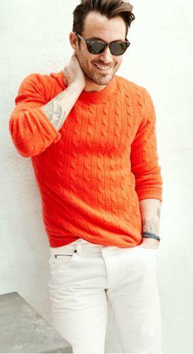 """カラーセーターの持つ様々な顔を攻略せよ! """"赤セーター""""を取り入れた秋冬メンズコーデを一挙ご紹介 5番目の画像"""