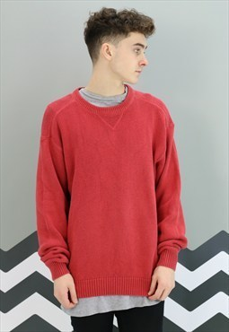 """カラーセーターの持つ様々な顔を攻略せよ! """"赤セーター""""を取り入れた秋冬メンズコーデを一挙ご紹介 4番目の画像"""