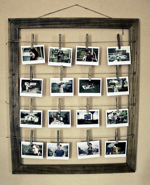 """オシャレに""""写真を飾る""""20のアイディア!撮った写真をインテリアにするテクニックを解説 3番目の画像"""