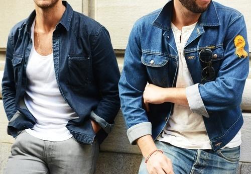 """ジャケットのインナーシャツにはこだわりを! おしゃれメンズの5つの""""インナーシャツテクニック"""" 1番目の画像"""
