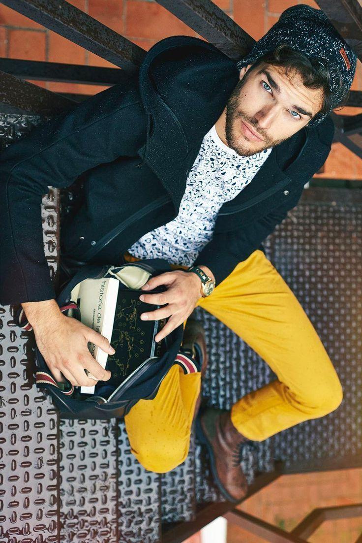冬のパンツスタイルは色が勝負! カラーパンツの応用で、マンネリパンツスタイルから脱出せよ。 4番目の画像