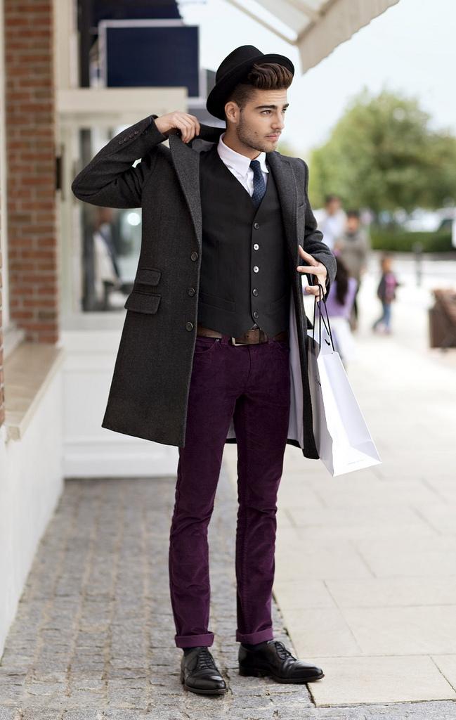 冬のパンツスタイルは色が勝負! カラーパンツの応用で、マンネリパンツスタイルから脱出せよ。 6番目の画像