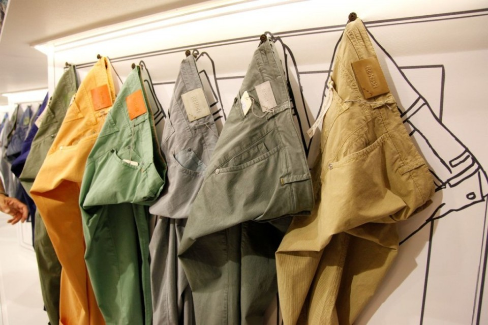 冬のパンツスタイルは色が勝負! カラーパンツの応用で、マンネリパンツスタイルから脱出せよ。 1番目の画像