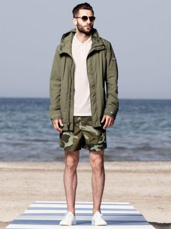"""オールシーズン活躍の""""迷彩柄""""でファッションを楽しむ。海外のお洒落メンズに見る、迷彩の着こなし術 4番目の画像"""