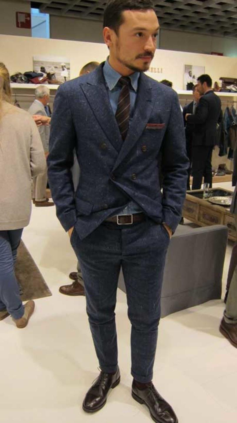 """ダブルスーツが実現する大人の品格:着こなしを抑えて""""ワンランク上""""のスーツスタイルを 7番目の画像"""