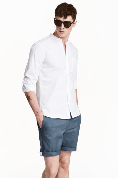 """メンズファッションの大黒柱、""""白シャツコーデ""""決定版:これからの季節には白シャツで爽やかに飾れ 23番目の画像"""