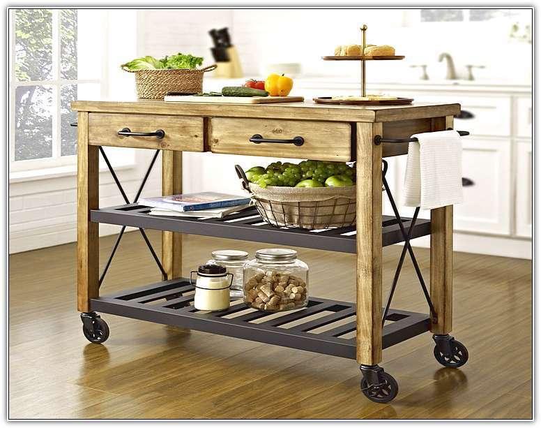 おしゃれで機能的な10台のキッチンワゴン:プラスαの家具、キッチンワゴンを置いてみる 1番目の画像