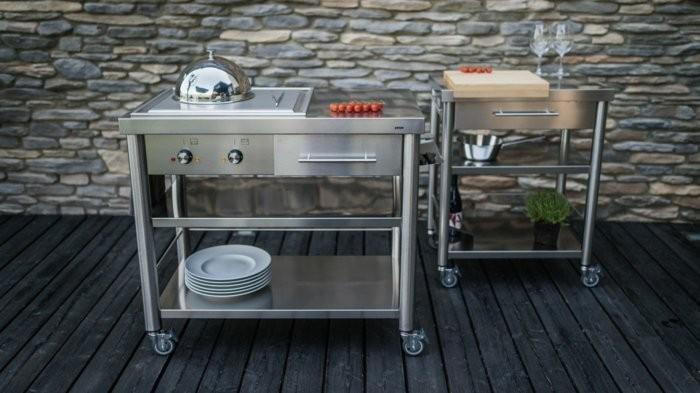 おしゃれで機能的な10台のキッチンワゴン:プラスαの家具、キッチンワゴンを置いてみる 2番目の画像