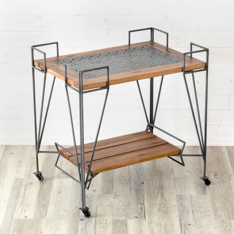 おしゃれで機能的な10台のキッチンワゴン:プラスαの家具、キッチンワゴンを置いてみる 7番目の画像