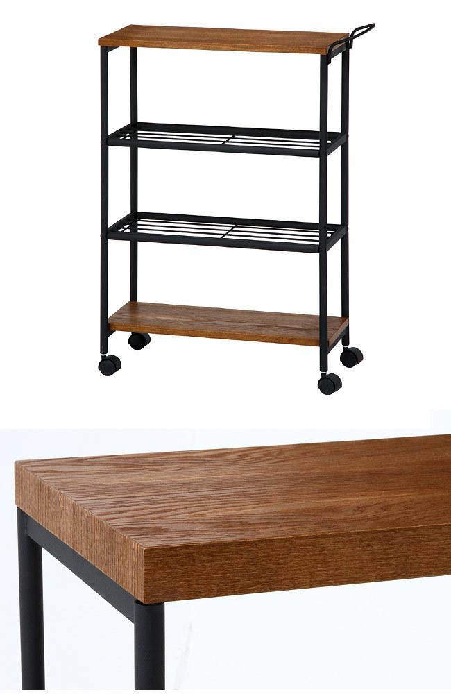 おしゃれで機能的な10台のキッチンワゴン:プラスαの家具、キッチンワゴンを置いてみる 10番目の画像