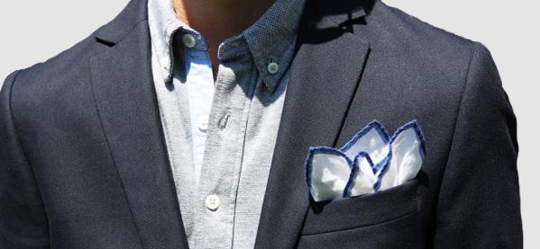 """結婚式やパーティーに:""""ポケットチーフ""""完全保存版! 26番目の画像"""