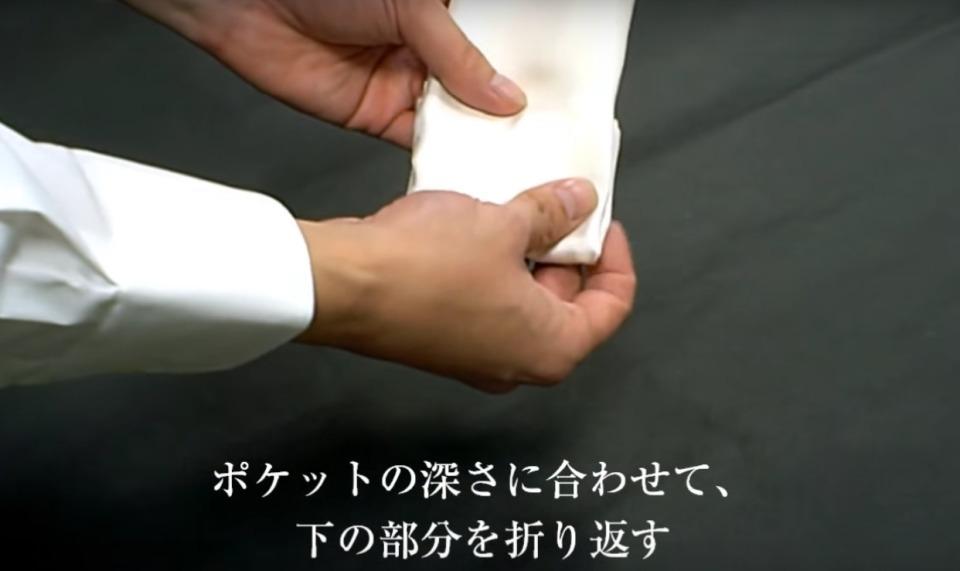 """結婚式やパーティーに:""""ポケットチーフ""""完全保存版! 14番目の画像"""