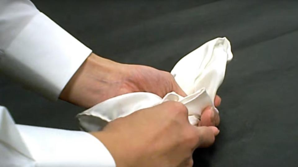 """結婚式やパーティーに:""""ポケットチーフ""""完全保存版! 20番目の画像"""