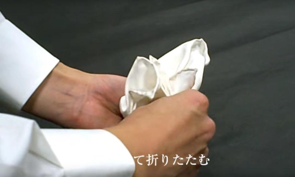 """結婚式やパーティーに:""""ポケットチーフ""""完全保存版! 21番目の画像"""