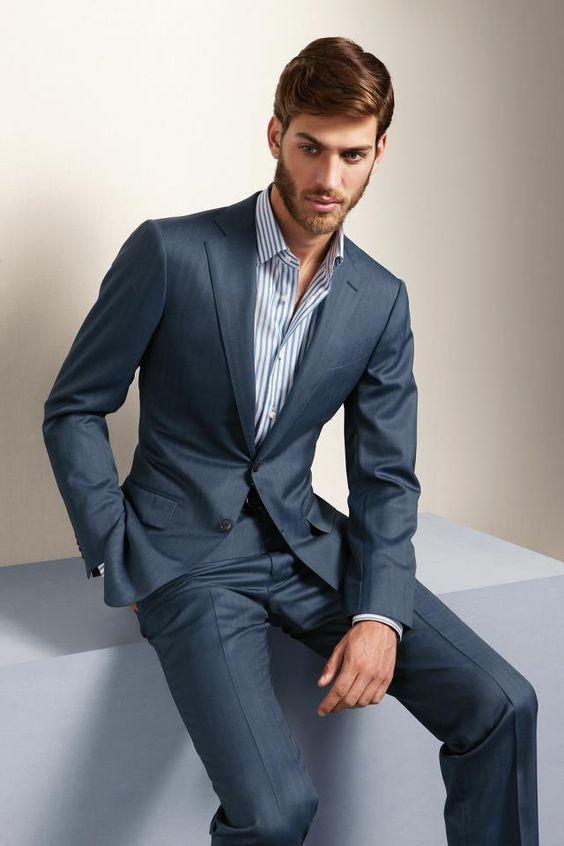 """「本当の服好き」が選ぶシャツ、それが""""ナポリシャツ"""":大きく高い襟で上品なスタイルを実現せよ。 4番目の画像"""