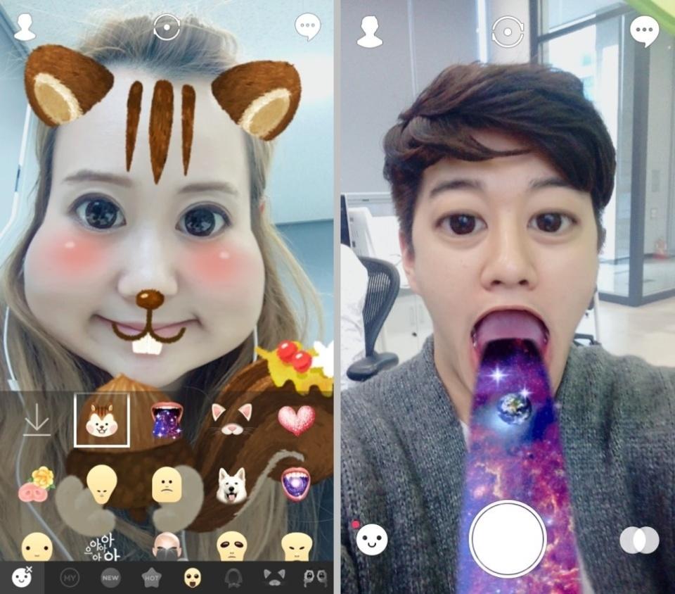 LINEが自撮りカメラアプリ「SNOW」に46億円を出資:大手企業が触手を伸ばす話題のアプリとは 2番目の画像