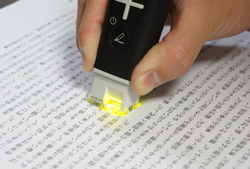 たった2秒で言葉の意味が調べられる:シャープのペン型スキャナー辞書「ナゾル」にヒットの予感! 6番目の画像