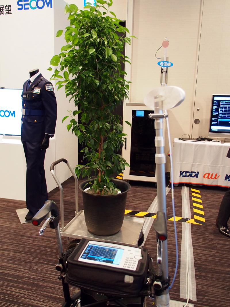 KDDIが次世代通信「5G」商用化:28GHz帯を使ったハンドオーバー実験に成功しセコムと提携へ 3番目の画像