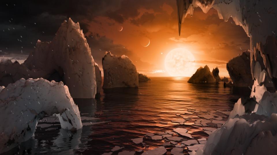 NASA重大発表:7つの地球サイズ系外惑星発見、地表に水の可能性も 3番目の画像