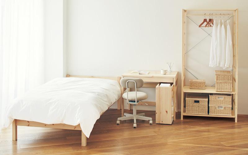 """""""理想の部屋""""を叶えるデザイン:無印良品のロングセラー家具「脚付きマットレス」の魅力に迫る 1番目の画像"""