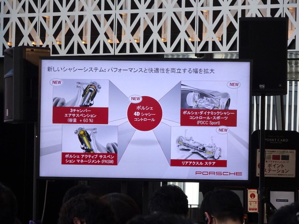 スポーツカー並みの運動性能を持ったラグジュアリーカー! ポルシェ「パナメーラ」の新型が発表 7番目の画像