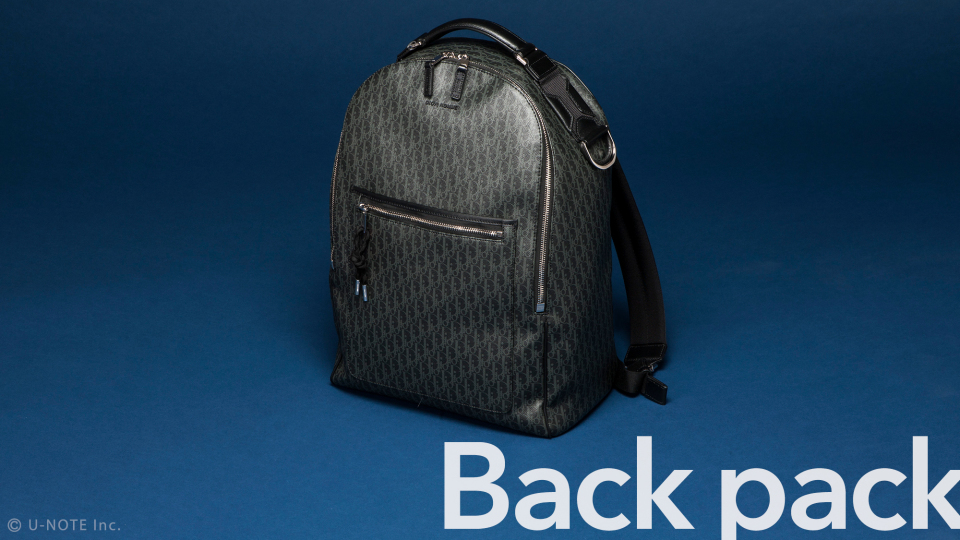 DIOR HOMME(ディオール オム)、「ダークライト」バッグでスタイルのあるオトコになれ。 4番目の画像