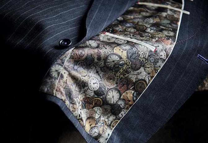 ポール・スミスの「インディビジュアルオーダースーツ」で自分だけの特別な一着を 4番目の画像