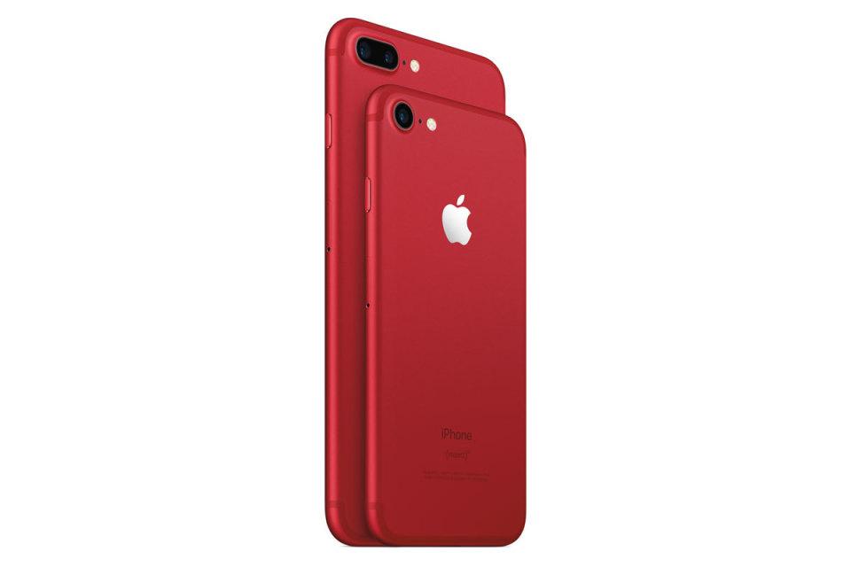 アップルが限定版iPhone 7/7 PlusのRED、9.7インチの新iPadを発表! 1番目の画像