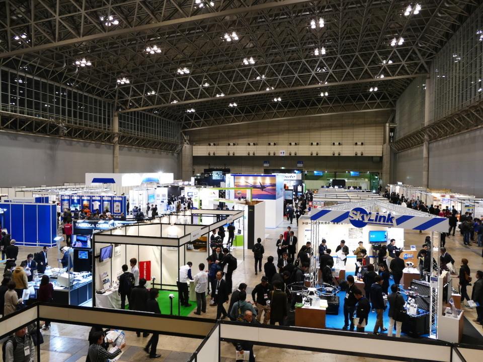 「JAPAN DRONE 2017」レポート:多くの人が知るべきドローン管制システム構築への課題 1番目の画像