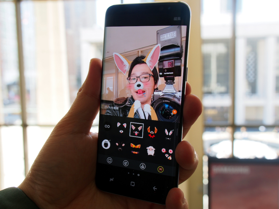 サムスン渾身の最新スマホ「Galaxy S8/S8+」ハンズオン:ニューヨーク発表会現地レポート 6番目の画像