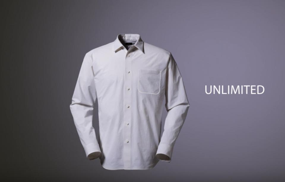 THE NORTH FACEのシーンレスな高機能シャツはオンもオフも、きちんと着やすい。 1番目の画像