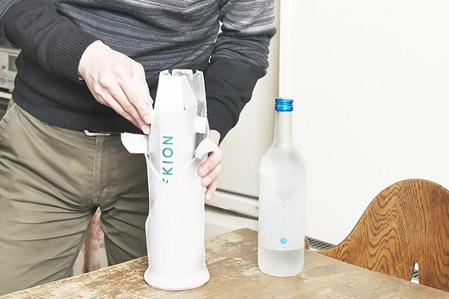 【体験】今年の夏は−2℃の日本酒が流行る?シャープの液晶技術を応用した日本酒向け保冷バッグが登場 3番目の画像