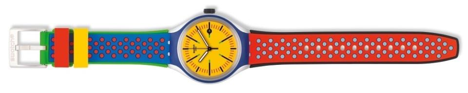 オフ日の腕元に「swatch」新作モデルで遊び心をプラス。ポップな腕時計でこなれたオトコに 3番目の画像