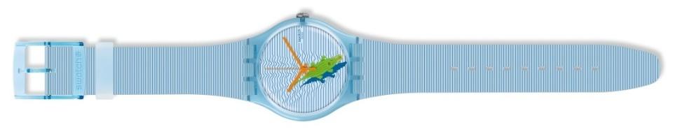 オフ日の腕元に「swatch」新作モデルで遊び心をプラス。ポップな腕時計でこなれたオトコに 4番目の画像