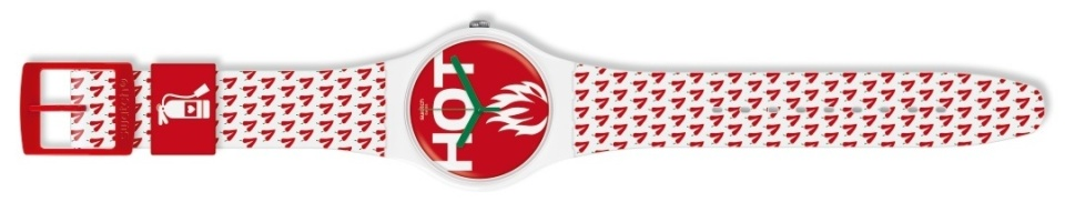 オフ日の腕元に「swatch」新作モデルで遊び心をプラス。ポップな腕時計でこなれたオトコに 8番目の画像