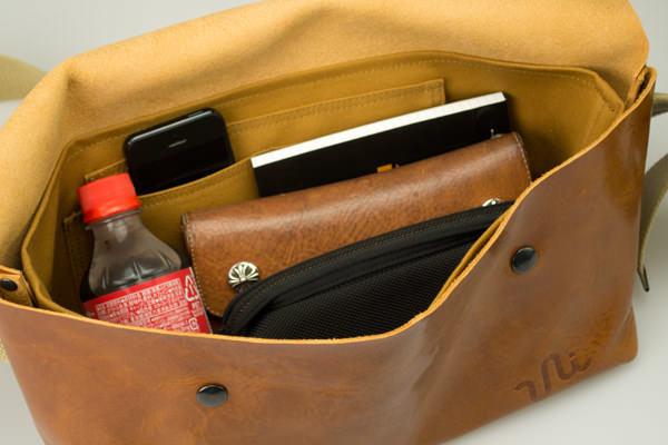 ジャパンメイドの品質とデザイン。ビジネススタイルにも馴染むUni&co.のメッセンジャーバッグ 5番目の画像