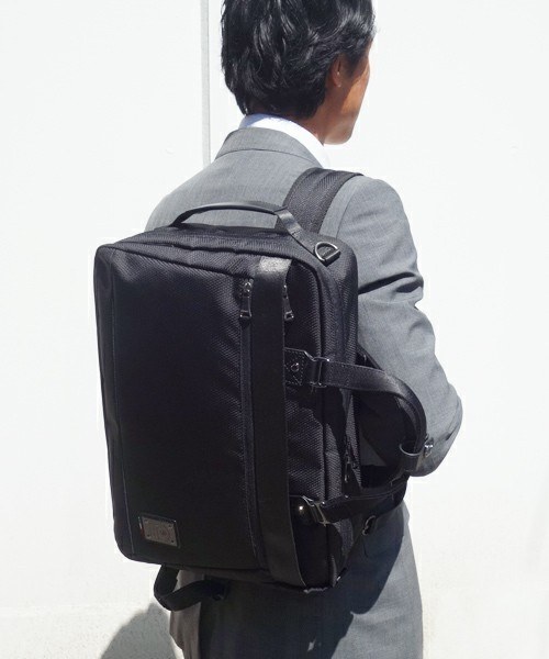 「スーツに背負ってもおしゃれにキマる」5つのメンズリュック:通勤はやっぱりリュックが楽! 1番目の画像