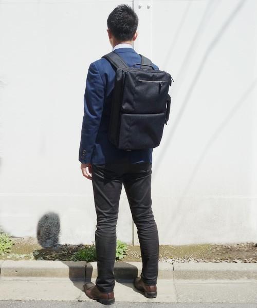 「スーツに背負ってもおしゃれにキマる」5つのメンズリュック:通勤はやっぱりリュックが楽! 4番目の画像