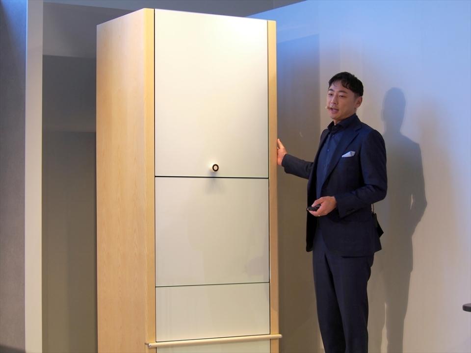 限定予約が開始した全自動衣類折り畳み機「ランドロイド」はお値段なんと185万円! 2番目の画像